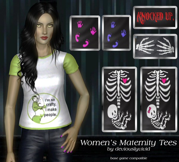 women maternity tees copy